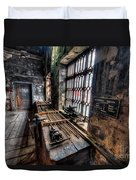 Victorian Workshops Duvet Cover by Adrian Evans