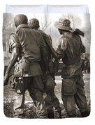 Vietnam Veterans Memorial - Washington Dc Duvet Cover by Mike McGlothlen