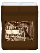 Vintage Barn Finds Duvet Cover by Cheryl Young