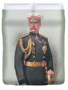 Viscount Kitchener Of Khartoum Duvet Cover by Walter Wallor Caffyn
