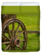 Wagons West Duvet Cover by Tikvah's Hope
