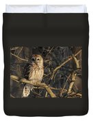 Waiting For Supper Duvet Cover by Lori Deiter