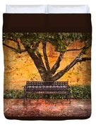 Waiting For You Duvet Cover by Debra and Dave Vanderlaan