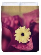 Waking Up Happy Duvet Cover by Laurie Search