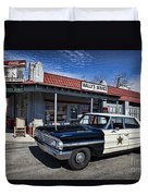 Wallys Service Station Duvet Cover by David Arment