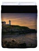 Warm Nubble Dawn Duvet Cover by Joan Carroll