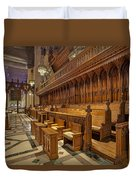 Washington National Cathedral Sanctuary Duvet Cover by Susan Candelario