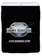 Washington's Most Wanted Duvet Cover by Tikvah's Hope