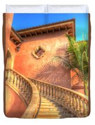Watch Your Step And Welcome Duvet Cover by Heidi Smith