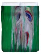 Watcher In The Green Duvet Cover by First Star Art