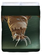 Water Bear Leg Duvet Cover by Eye of Science and Science Source