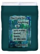Water Cure - 1 Duvet Cover by Gillian Pearce