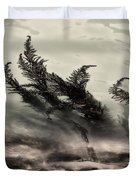 Water Fronds Duvet Cover by Dave Bowman