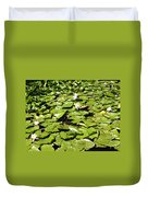 Water Lillies Duvet Cover by Les Cunliffe