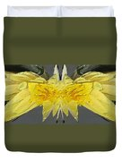 Water Lily Unleashed 4 Duvet Cover by Tim Allen