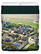 Water Tower Duvet Cover by Chuck Staley
