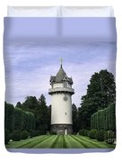 Water Tower Folly Duvet Cover by John Greim