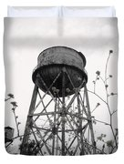 Water Tower Duvet Cover by Michael Grubb