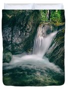 waterfall Duvet Cover by Stylianos Kleanthous