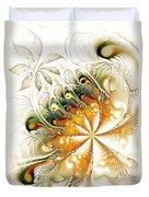 Waves and Pearls Duvet Cover by Anastasiya Malakhova