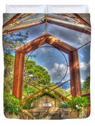 Wayfarers Chapel Duvet Cover by Heidi Smith