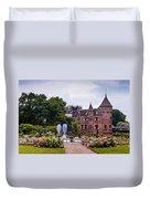 Wedding Setting In De Haar Castle. Utrecht Duvet Cover by Jenny Rainbow
