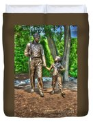 Welcome To Mayberry Duvet Cover by Dan Stone