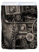 Welcome to the Machine Duvet Cover by Erik Brede