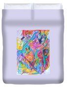 Wellspring Of Truth 1 Duvet Cover by David Baruch Wolk