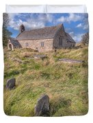 Welsh Tombs Duvet Cover by Adrian Evans