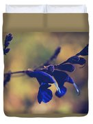 We're Two Of A Kind Duvet Cover by Laurie Search