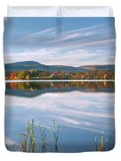West Twin Lake Duvet Cover by Bill  Wakeley