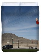 West Wendover Nevada Duvet Cover by Frank Romeo