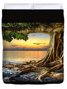 Wet Dreams Duvet Cover by Debra and Dave Vanderlaan