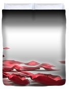 When The Petals Fall Duvet Cover by Cheryl Young