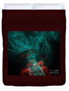When The Smoke Clears They Bloom Duvet Cover by Elizabeth McTaggart