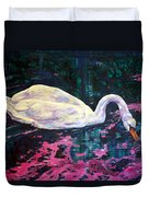 Where Lilac Fall Duvet Cover by Derrick Higgins