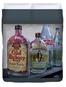 Whisky And Coke Duvet Cover by Daniel Hagerman