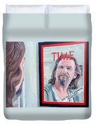 Who Is This Guy Duvet Cover by Tom Roderick