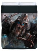 Wight Of Precinct Six Duvet Cover by Ryan Barger