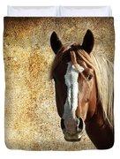 Wild Horse Fade Duvet Cover by Steve McKinzie