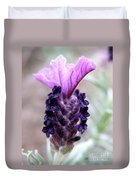 Wild Lavender Duvet Cover by Lainie Wrightson