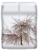 Wild Springtime Winter Tree Duvet Cover by James BO  Insogna