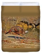 Wild Turkey Duvet Cover by Al Powell Photography USA