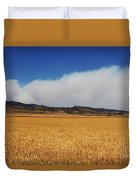 Wildfire Duvet Cover by Jon Burch Photography