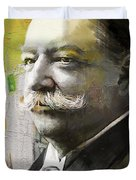 William Howard Taft Duvet Cover by Corporate Art Task Force
