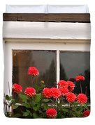Window Box Delight Duvet Cover by Jordan Blackstone