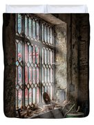 Window Decay Duvet Cover by Adrian Evans