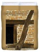 Window Frame Detail 1 Duvet Cover by Heiko Koehrer-Wagner