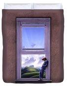Window Of Dreams Duvet Cover by Jerry LoFaro